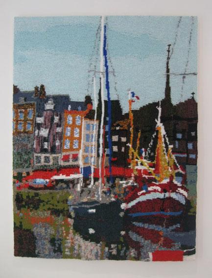Honfleur Harbour 73 x 97 cm £400