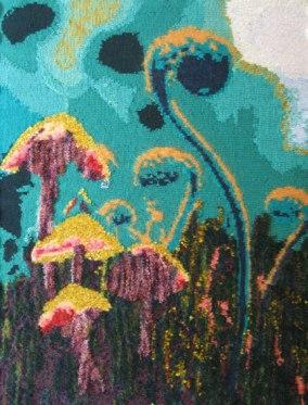 In the Dark, Dark Wood 73 x 97 cm £300