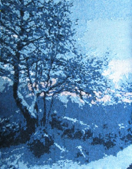 Snowy Garden 73 x 97 cm £400