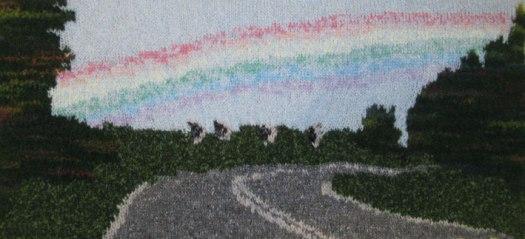Rainbow 73 x 33cm £80