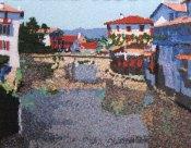 St Jean Pied de Port 97 x 71 cm £400