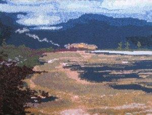 Winter's Morning Aberavon 97 x 73 cm £400