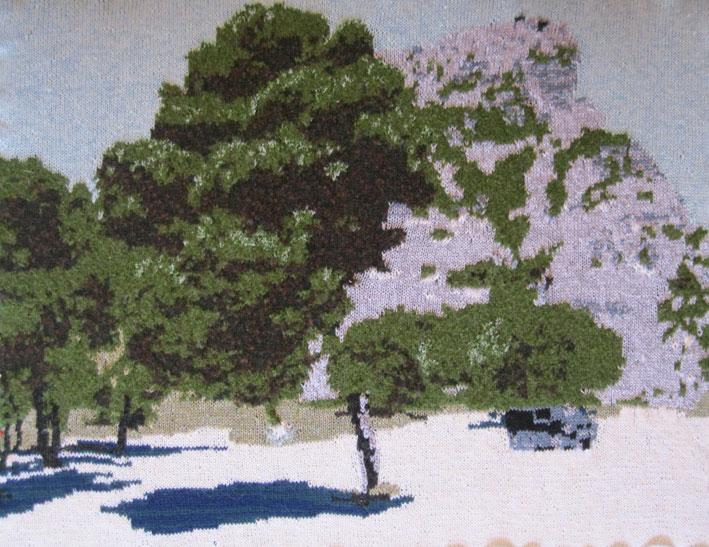 Les Baux de Provence 97 x 73 cm £400