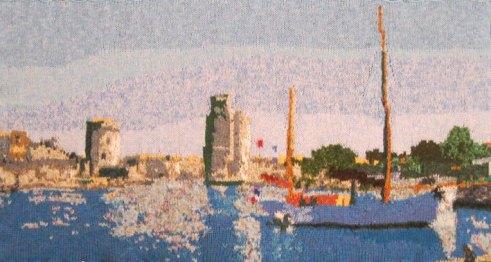 La Rochelle 97 x 49 cm £300