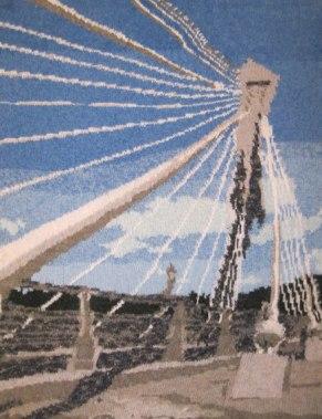 Pont de Térénez 73 x 97 cm £400