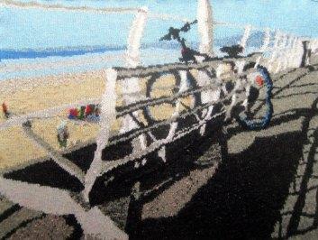 Bike Ride in Aberavon 97 x 73 cm £400