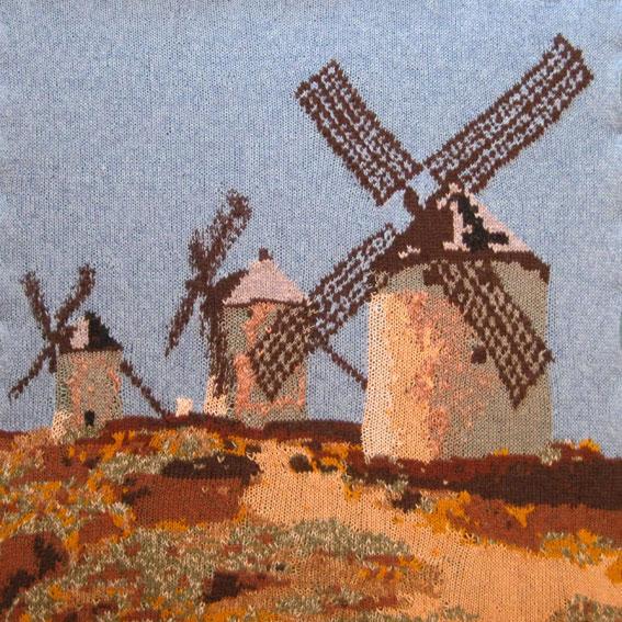 Consuegra, La Mancha 73 x 73 cm £300