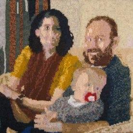 Family Snap 73 x 73 cm £300
