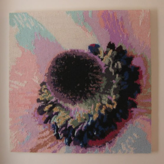 Purple Flower 73 x 73 cm £300