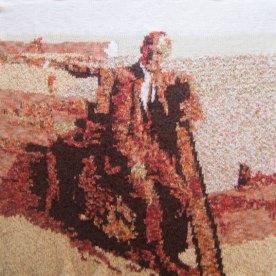 Poppa Roberts 73 x 73 cm £300
