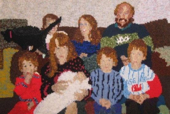 Family 1989 2 97 x 64 cm £400