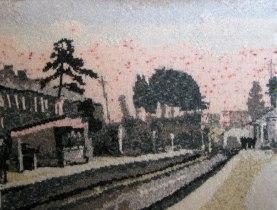 Resolven Station 97 x 73 cm £400