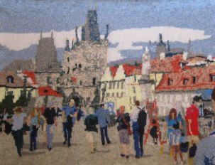 Charles Bridge, Prague 97 x 73 cm £400