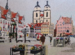 Lutherstadt Wittenberg, Germany 97 x 73 cm £400