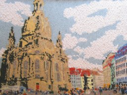 Dresden Cathedral, Germany 97 x 73 cm £400