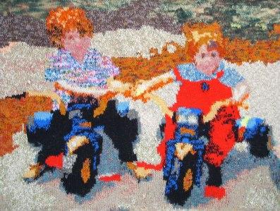 Easy Riders 89 x 64 cm £200