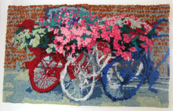 Three Bicycles, Zeeland 100 x 62 cm £300