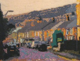 Neath Road, Resolven 87 x 64 cm £200