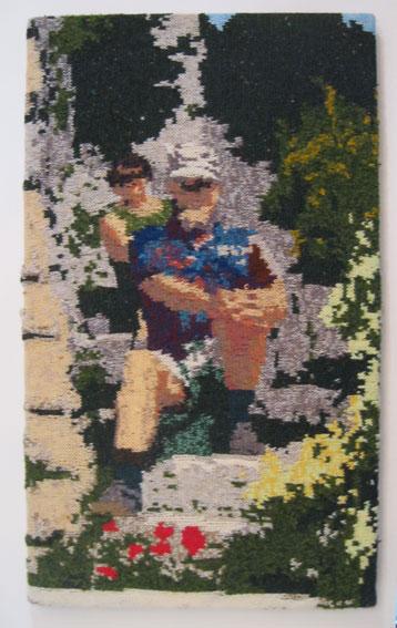 Steps in Gordes, Luberon 52 x 89 cm £300