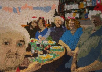 Happy Christmas! 89 x 66 cm £200