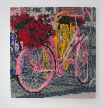 2 Bicycles 71 x 75 cm £300