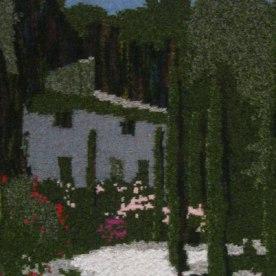 Fontaine-de-Vaucluse, Provence 73 x 97 cm £350