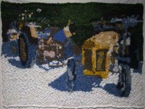 Rusty Tractors 76 x 57 cm £300