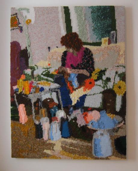 Faceknits - The Knitter 75 x 100 cm £400