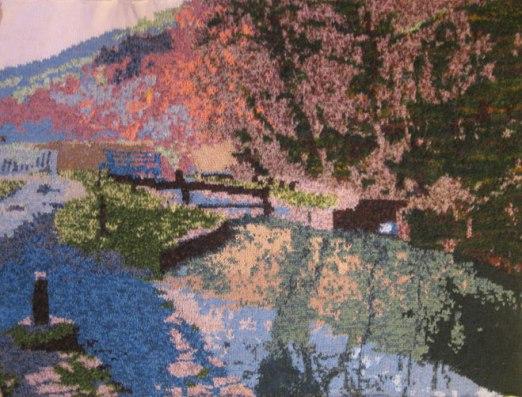 Canal Basin 97 x 73 cm £400