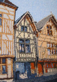Houses in Troyes