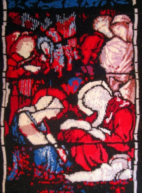 184 2017 Burne-Jones nativity window, Forden