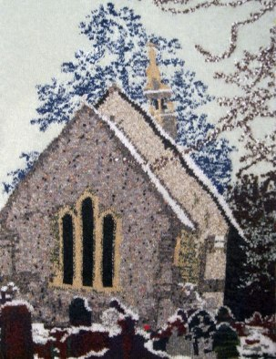 Resolven Church 73 x 97 cm £400