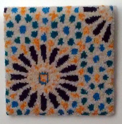 Alhambra tiles, Granada, Spain 35.5 x 35.5 cm £50