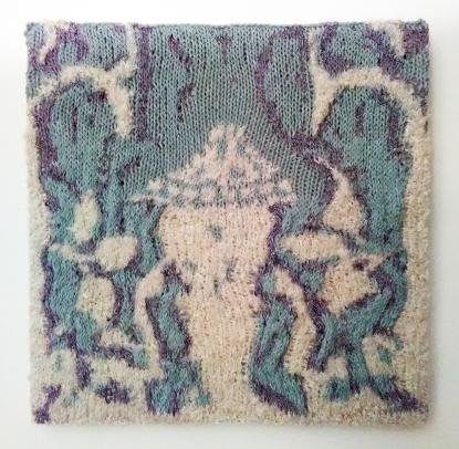 Alhambra Plasterwork, Granada, 35.5 x 35.5 cm £50