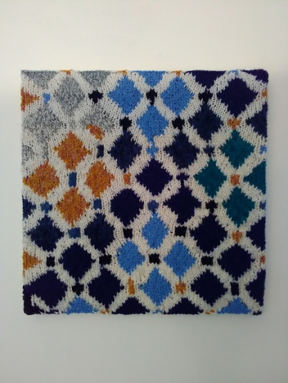 Alhambra tiles 2, Granada, Spain 35.5 x 35.5 cm £50