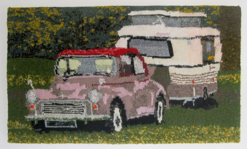 Morris Minor & Puck 85 x 50 cm £250