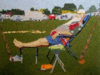 Well Earned Rest 97 x 73 cm £400