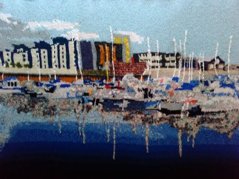 Swansea Marina 97 x 73 cm £400