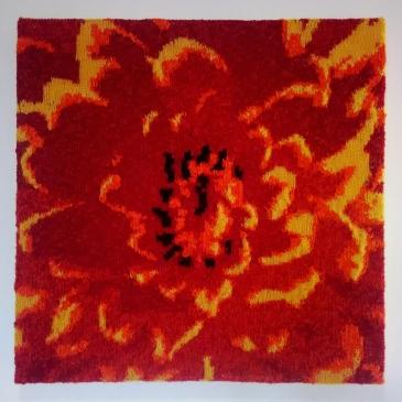 Dahlia 54.5 x 54.5 cm £60