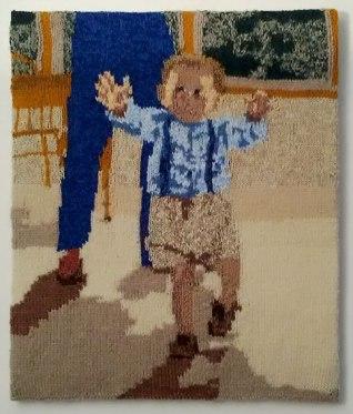 Ezzy Walking 50 x 60 cm £75