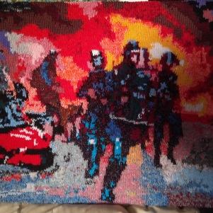 Riot 60 x 50 cm £75