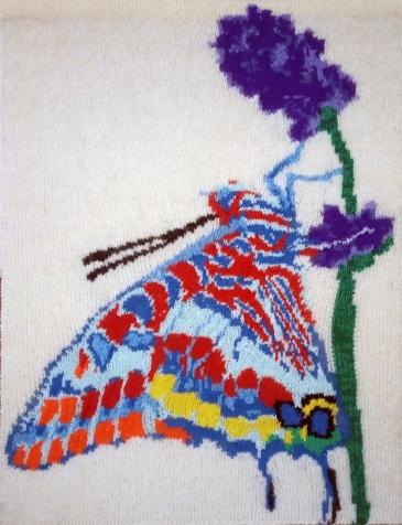 Butterfly in Lavender 57 x 77 cm £100